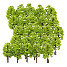 100X 3.3-4.5cm Green Sword Grass Model HO for Park Garden Landscape Building