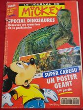WALT DISNEY LIVRES MAGAZINES LE JOURNAL DE MICKEY N° 2102 IJ SPECIAL DINOSAURES