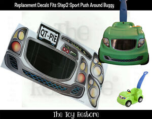 The Toy Restore Replacement Stickers Spare Decals fits Step2 Sport Ride-on Decal