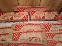 vintage egg cartons advertising lot of 17 cartons Bayside Farms Nova Scotia 1951
