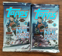 1999-2000 Topps Hockey cards (2) pack per lot. See checklist inside