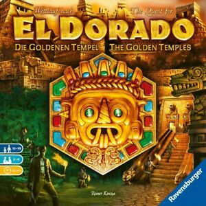 The Quest for El Dorado: The Golden Temples Board Game Brand New