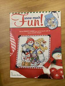 Cross Stitch Pattern Booklet: Snow Much Fun (Ursula Michael)