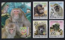 Monkey - Wild Animals - Fauna on postage stamps - overprint MNH** - AH