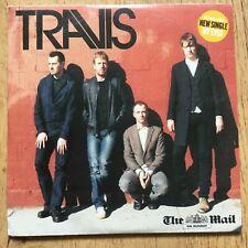 TRAVIS ALBUM - WHY DOES IT ALWAYS RAIN ON ME? MAIL ON SUNDAY Promo CD