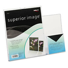Deflecto Superior Image Sign Holder With Pocket 8-1/2w x 11h Clear 599401