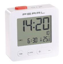Réveil de voyage radio-piloté avec thermomètre - Pearl