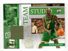 KEVIN GARNETT/ RAY ALLEN NBA 2009-10 STUDIO TEAM STUDIO MATERIALS BOSTON CELTICS