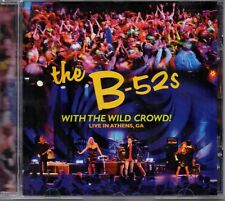 The B-52s ‎– With The Wild Crowd! (Live In Athens, GA) CD 2011