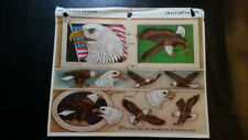 Vintage Tandy Craftaid #6536 for leather carving and tooling Bald Eagles