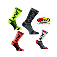 6 Pairs Breathable Bicycle Bike Riding Cycling Running Basketball Sport Socks