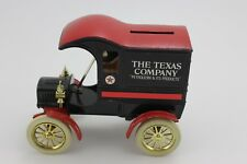 ERTL REPLICA 1905 FORD'S FIRST DELIVERY CAR THE TEXAS COMPANY BANK