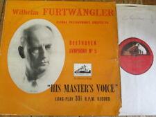 ALP 1195 Beethoven Symphony No. 5 / Furtwangler / VPO R/G