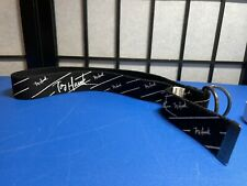 """Tony Hawk """"Signature"""" In White on Black Canvas Belt Size #7 (Fits 24"""" - 26"""")"""