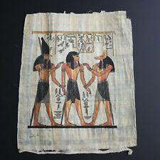 Egyptian Hand Painted Geniune Papyrus Picture Painting