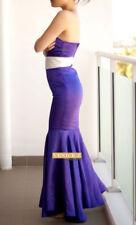 Satin Mermaid Formal Dresses for Women