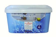 AQUA CLEAN WC Power Pulver 5kg Neu mit Zitrus-Frischeduft und Farbe