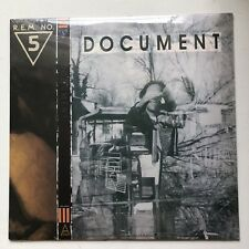 R.E.M. - DOCUMENT LTD EDITION 2500 ONLY GOLD  RECORD LP VINYL SEALED REM