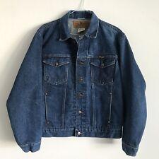Wrangler Authentic Western Jacket Men's Size 40 Denim Jean Jacket