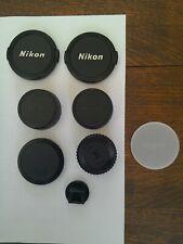 Selection of Nikon lens/camera caps