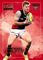 ✺New✺ 2020 ESSENDON BOMBERS AFL Card MICHAEL HURLEY Dominance