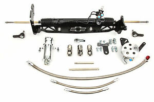 1967-72 Chevy C10 Unisteer Rack Pinion Conversion For Disc Brakes Small Block