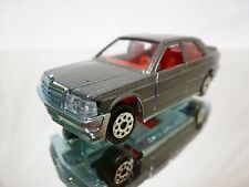 MAJORETTE 231 MERCEDES BENZ 190E 2.3-16 - METALLIC 1:59 - EXCELLENT CONDITION