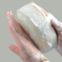 2Pcs Natural Loofah Luffa Wash Shower Sponge Body Scrubber Exfoliator Bath Brush