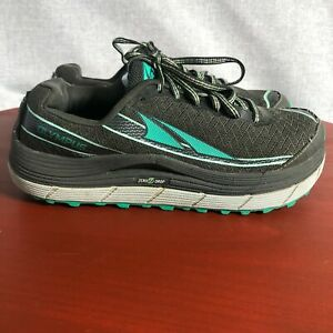 Altra Olympus 2.0 Women's Size 8.5 Running Shoes Gray Green Athletic Sneakers
