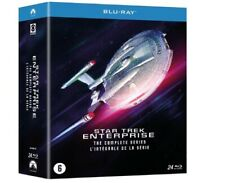 STAR TREK ENTERPRISE  INTEGRALE  COFFRET V. FRANCAISE  BLU RAY SOUS CELLO