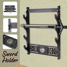 Assembly Wall Mount Sword Holder Samurai Sword Katana Tanto Stand Holder Tai Chi