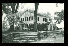 Indian Agency House, Portage, Wisconsin - REAL PHOTO (PortageWis3