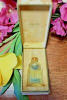 Vintage Jean Patou MOMENT SUPREME-PARIS Empty Perfume Bottle w/Stopper+Orig.Box