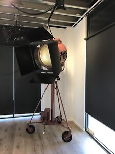 Mole Richardson Studio Big Eye 10k Fresnel Spot Ex-Hollywood Studios Type 4241