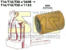 GALET 85 105 110 12 mm FENWICK LINDE T16 T18 T20 >N°360R 0039933604 TRANSPALETTE