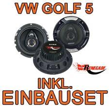 VW GOLF V 5   HECK  LAUTSPRECHER BOXEN SET 16cm 3-WEGE TRIAXE Renegade 200W  NEU
