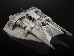 40TH Anniversary 6 Inch Scale Snowspeeder Vehicle Black Series Star Wars ..LOOSE