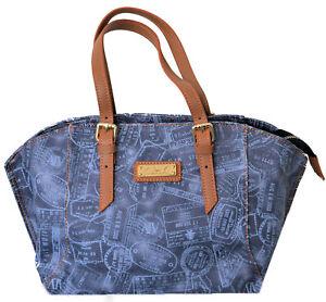 Shoulder Bag Woman Alv By Alviero Martini Denim Small Small Denim