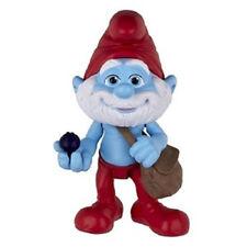 NEW    The Smurfs Movie Grab Ems Mini Figure - Papa Smurf by Jakks (2av