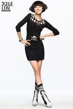 Women Lady Girl Knit Sweater Warhounds tooth Tunic check Skirt Dress