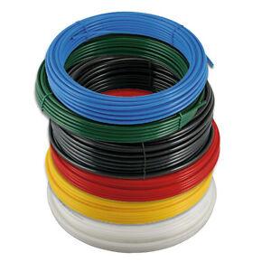Flexible Nylon Tubing - 30 Metre Coil Pneumatic Air Pipe