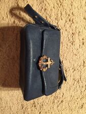 Juicy Couture Navy Leather Handbag/Purse...NEW!