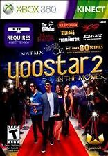 Yoostar 2: In the Movies Microsoft Xbox 360, 2011 Video Game Brand New Free Ship