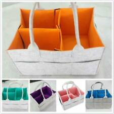 Baby Diaper Storage Bag Basket Nursery Toy Container Changing Foldable Bags N7