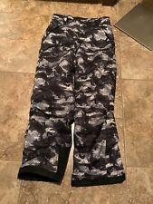 Spyder Ski Pants 18 Black Gray White New Without Tags (130)