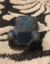 Vintage Tootsie Toy Metal Blue 1954 Mg Convertible Nice