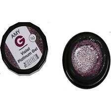 Amy G Metallic Platinum Gels - Violet 5g (3003041)