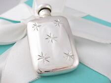 Tiffany & Co Silver Snowflake Design Perfume Bottle