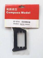 02-0724 Compass Model RC Helicopter Knight 50 Rudder Servo Mount New In Package