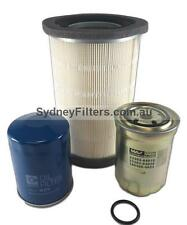 FILTER KIT - MAZDA B2500, BRAVO 2.5L TURBO DIESEL [with ROUND air filter]